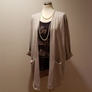 One Size Fits All, Donni Open Front Cardigan